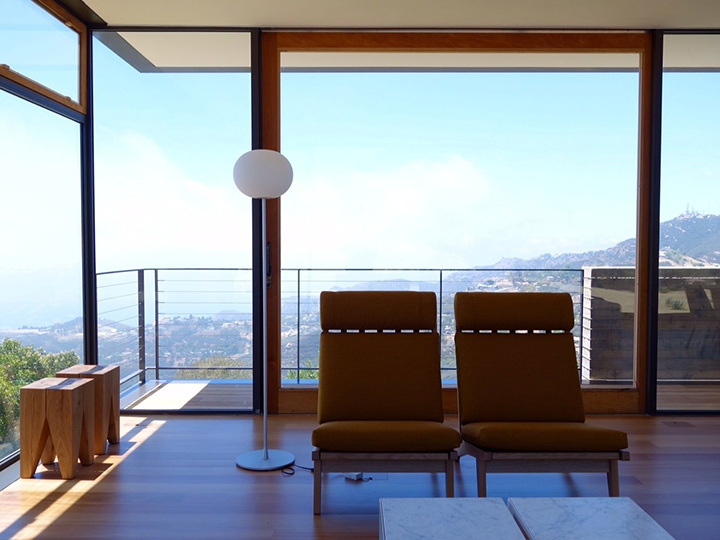 Residential Saddle Peak House Airfloor Inc